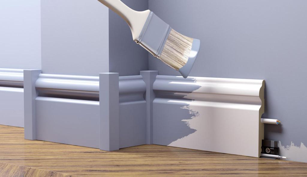 Элементы для оформления стыковых участков плинтуса МДФ